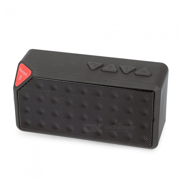 Buy X3 Speaker Built-in Microphone Bluetooth Speakers Wireless Mini Loudspeaker Portable Speakers Black/Speaker with Litecoins with Free Shipping on Gipsybee.com