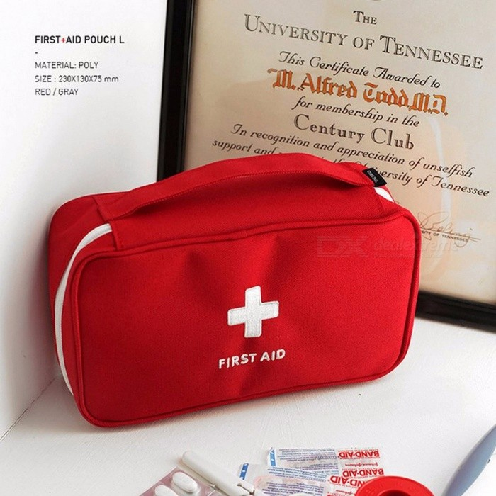 Emergency Kits Fashionable Home Travel Portable Medical Emergency Package First Aid Kit To Receive Large Medical Bag