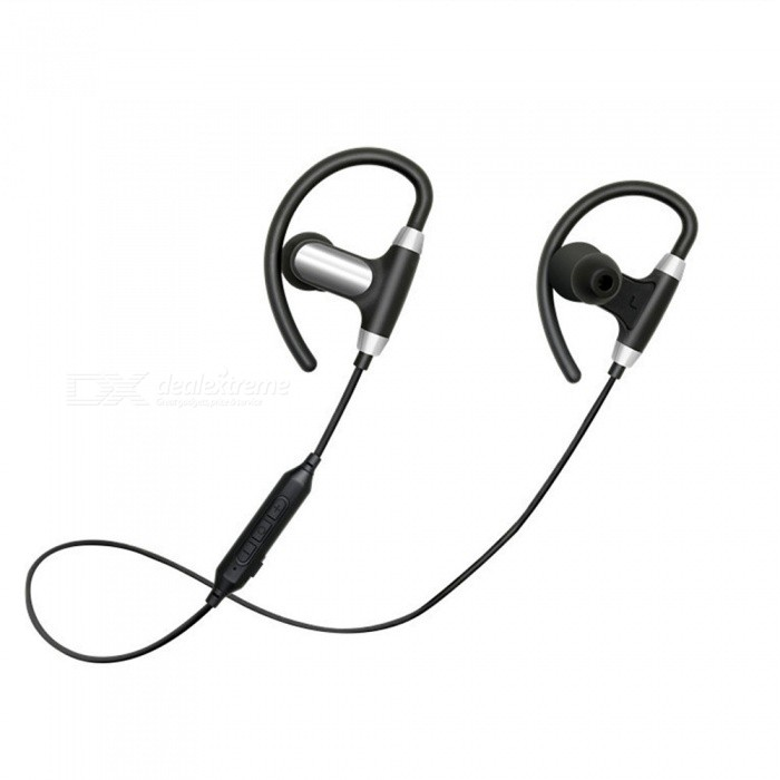 OJADE M3X Ear-Hook Wireless Bluetooth Earphone Headphone, Sport Headset - Black