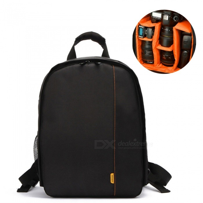 ZHAOYAO Multifunctional Digital DSLR Camera Bag Waterproof Photo Camera Backpack for Nikon Canon Sony