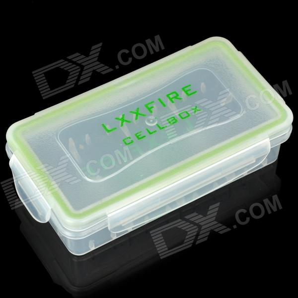 2*18650/4*123A Batteries Waterproof Case Holder