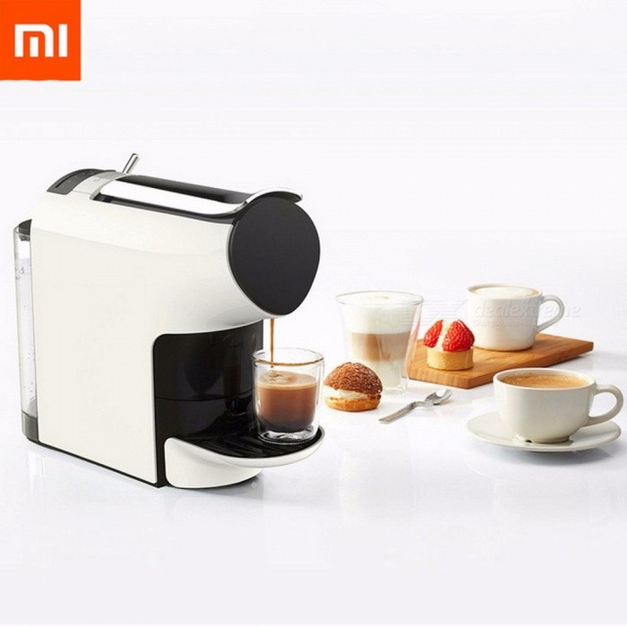 Xiaomi SCISHARE 9 Level Concentration Capsule Espresso Coffee Machine Preset Compatible With Multi-brand Capsules White
