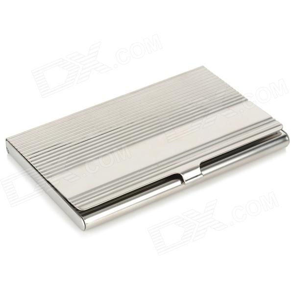 Durable and elegant outlook metal business card case silver free durable and elegant outlook metal business card case silver reheart Images