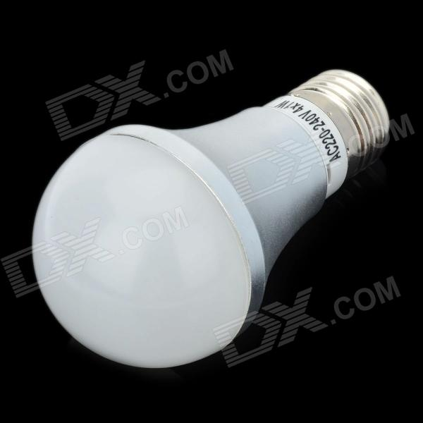 E27 4W 360-Lumen 3500K Warm White Lamp Bulb (110~260V)