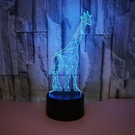 New-Giraffe-3D-Night-Light-Touch-Remote-Control-Creative-Gifts-Lights-Birthday-Bedroom-Table-Lamp-For-Kids-ChangeableClear3W