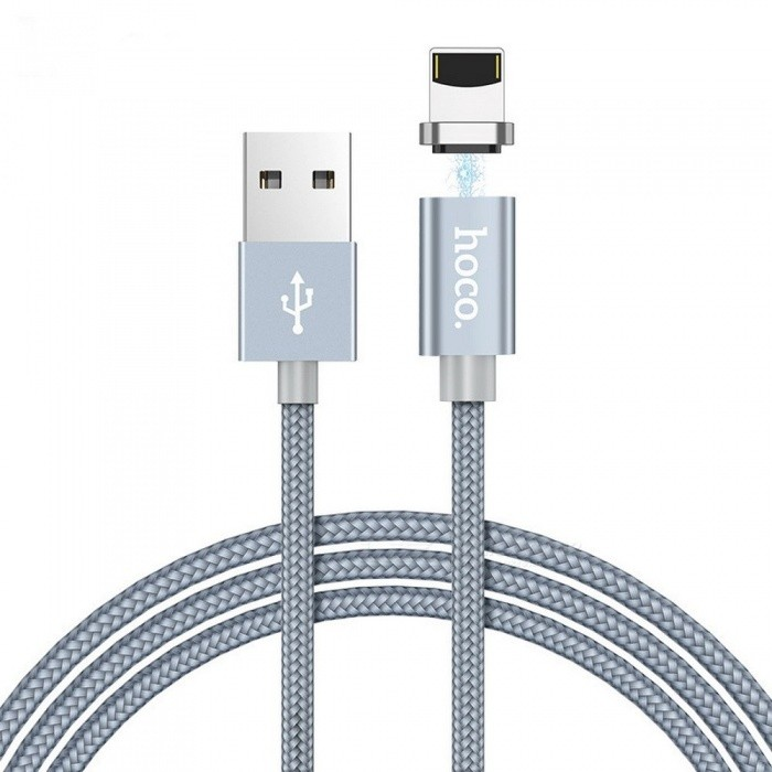 HOCO U40A Nylon Woven Charge Cords Micro Usb Cable Type-C  For Android IPHONE Grey