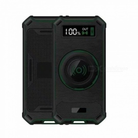 Ismartdigi-DS-037W-GN-10000mAh-Power-Bank-2b-Wireless-Charger-for-Mobile-Phone-iphone-Samsung-Sony-Green