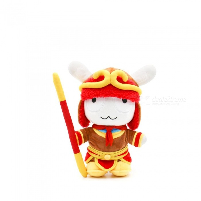 Xiaomi Cute Wukong Monkey King Mitu Rabbit 25CM Doll Soft PP Cotton Cartoon Kids Toys For Children Gifts Red