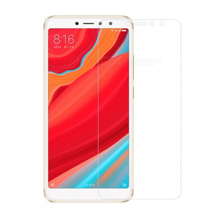 Naxtop 2PCS 2.5D Tempered Glass Screen Protectors for Xiaomi Redmi Y2 - Transparent