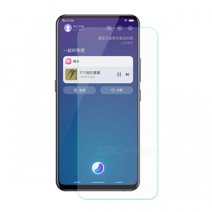 Buy ENKAY 2.5D Tempered Glass Screen Protector for VIVO NEX with Litecoins with Free Shipping on Gipsybee.com