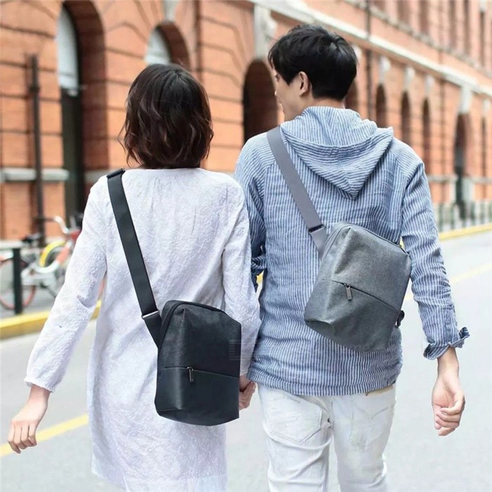 Xiaomi-90-Simple-City-Shoulder-Bag-Satchel-Bag-Boy-Girl-Men-Women-Large-Capacity-Casual-Crossbody-Waterproof-Chest-Pack-Light-Grey