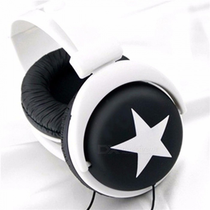 Star-Pattern-Sports-Style-Head-Type-Mega-Bass-Earphone-Headphone-Headset-For-35mm-PC-Mobile-Phone-Black