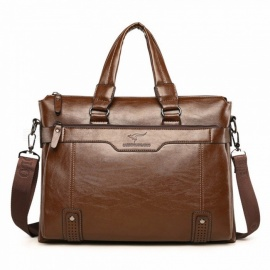 Kangaroo-Male-Bag-Business-Briefcase-Handbag-Mens-Cross-Section-Leather-Shoulder-Bag-Soft-Leather-Leisure-Bag