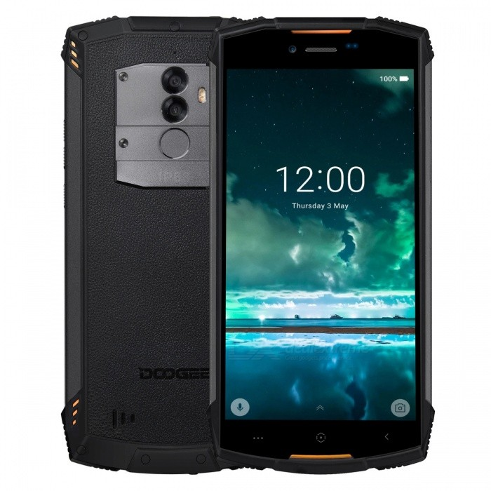 DOOGEE S55 Full Screen IP68 Waterproof 4G Phone w/ 4GB RAM, 64GB ROM - Orange
