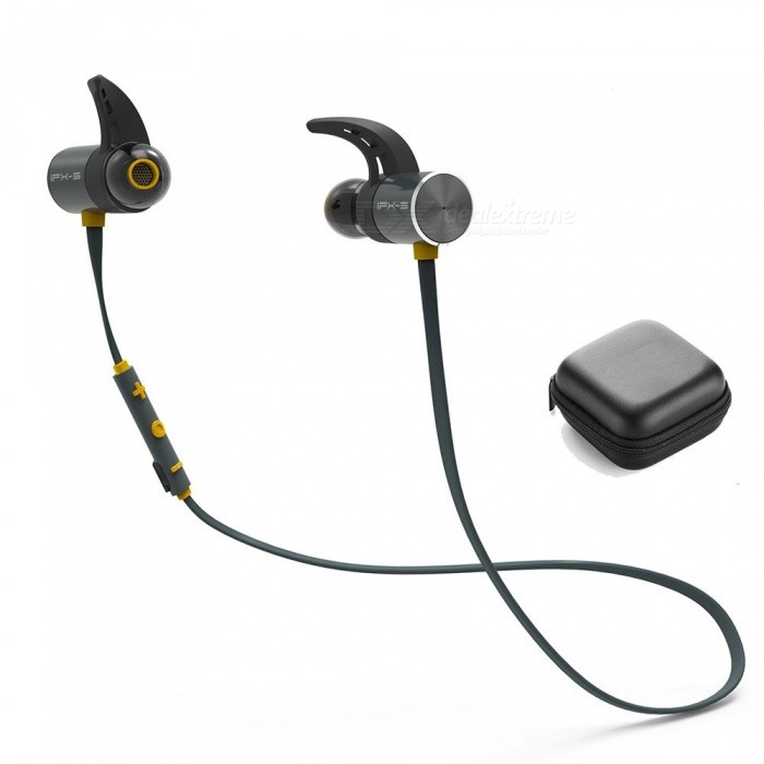 BX343 Wireless Headphone, Bluetooth IPX5 Waterproof Earbuds, Magnetic Headset Earphone With Microphone