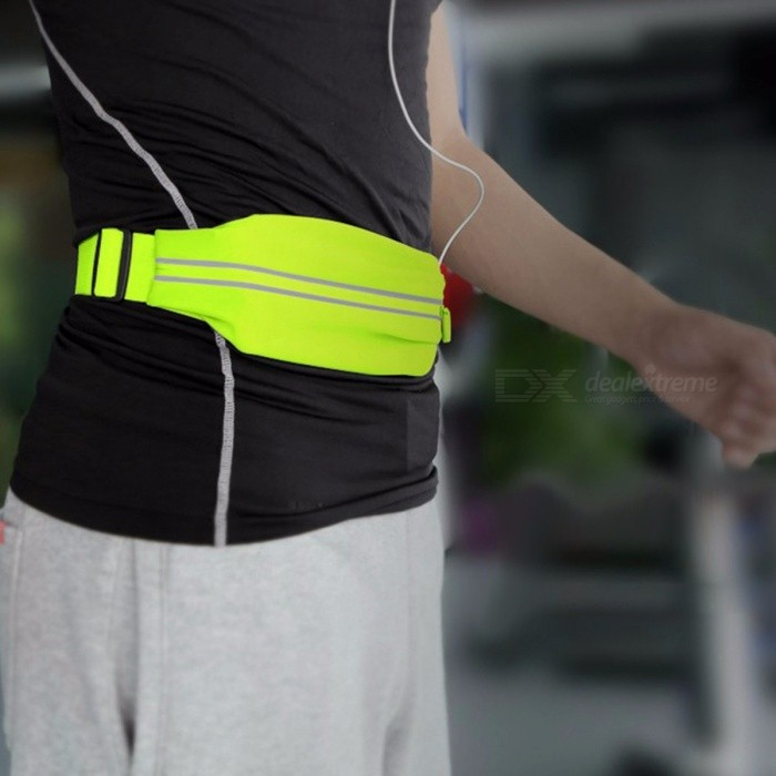 ROCK Sports Running Waist Bag Pocket, Jogging Portable Waterproof Cycling Bum Bag, Anti-theft Phone Pack Belt Bag