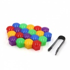 CARKING-20Pcs-19mm-Colorful-Plastic-Car-Wheel-Lug-Nut-Bolt-Cover-Caps-with-Removal-Tool
