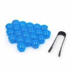 CARKING-20Pcs-19mm-Blue-Plastic-Wheel-Lug-Nut-Bolt-Cover-Caps-with-Removal-Tool-for-Car