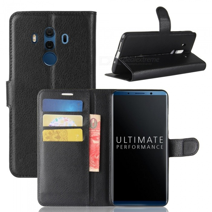 Naxtop Phone Wallet Flip Leather Holder Cover Case for Huawei Mate 10 Pro