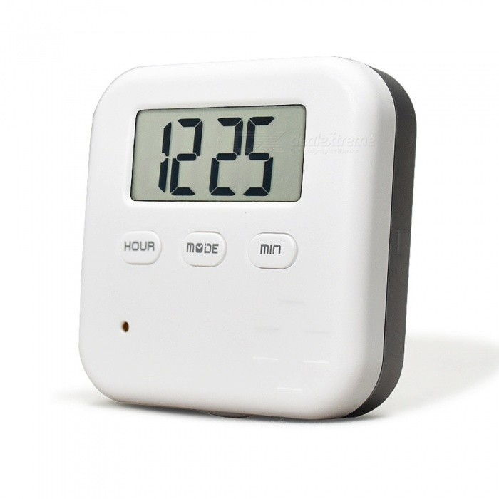 Buy OJADE Alarm Pill Organizer Box, Mini Portable Daily Pill Case with Digital Alarm Clock Reminder for Supplements Travel Outdoor with Litecoins with Free Shipping on Gipsybee.com
