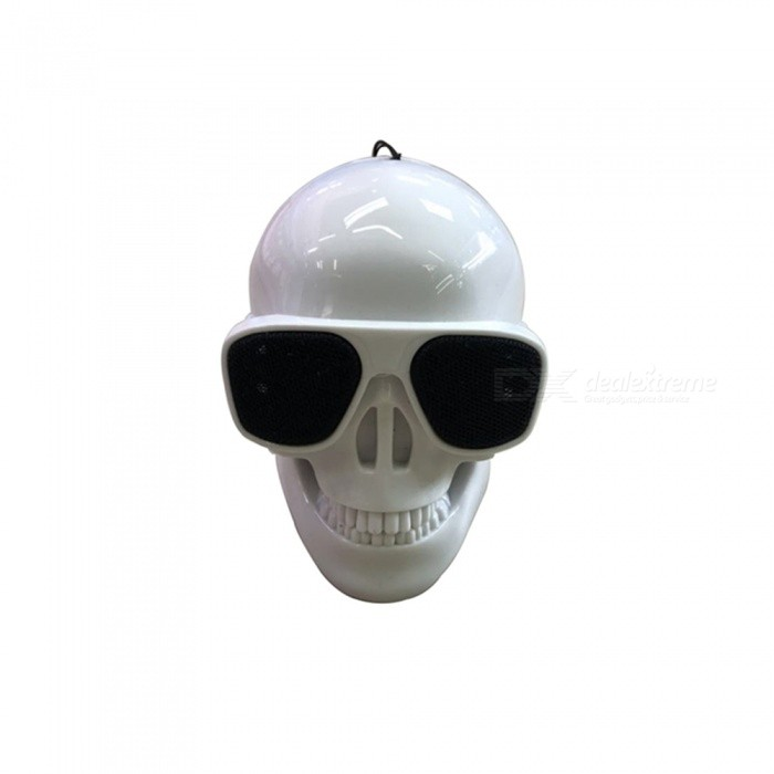 SPO Portable Mini Skull Head Wireless Bluetooth Speaker