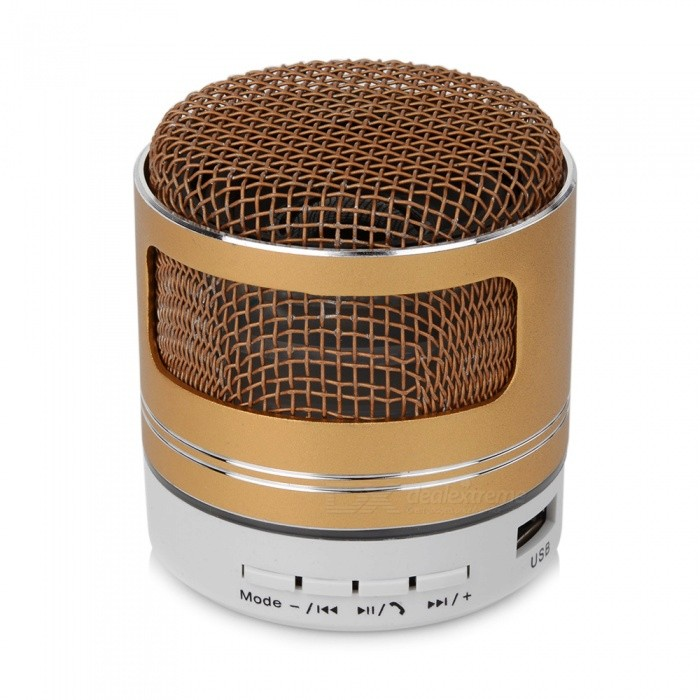 Nasin S13 Outdoor Portable Microphone Modeling Subwoofer Card Mini Wireless Bluetooth Speaker For Xiaomi Samsung Huawei Speaker