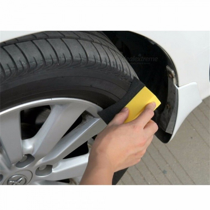 1pcs U-Shape Sponge Car Wheels Wash Cleaning Auto Tyre Tire Truck Brush Wax Polishing Washer Car Accessories