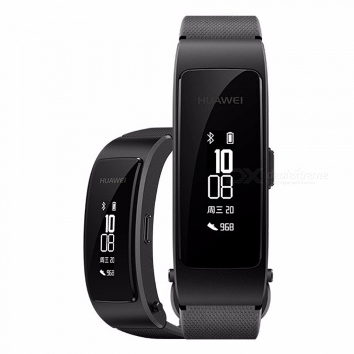 Original Huawei TalkBand B3 Lite Youth Edition Bluetooth Smart Bracelet Fitness Wristband Sports Headset Answer/End Call Black