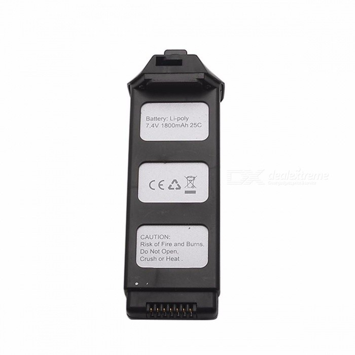 7.4V 1800mAh Li-Po Battery Quadcopter Battery Perfect Fit For MJX B5W Drone Replacement Parts Black/25C
