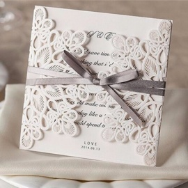 10Pcs-Folding-Wedding-Invitation-Cards-Kit-With-Envelopes-Seals-Personalized-Printing-Light-Yellow