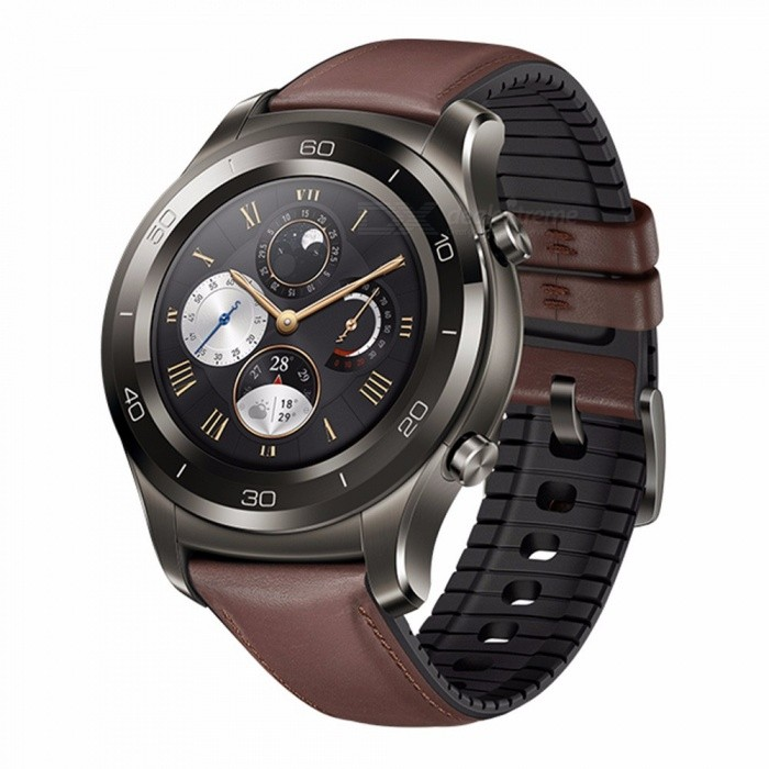 Huawei Watch 2 Pro Smart Watch Support LTE 4G Phone Call Heart Rate Tracker For Android IOS IP68 Waterproof NFC GPS Silver