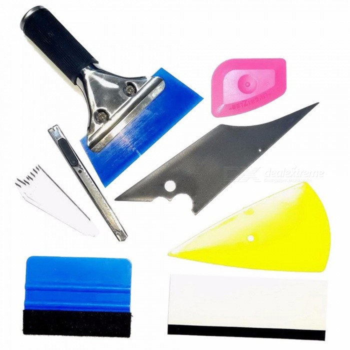 8-In-1-Car-Foil-Scraper-Tools-Squeegee-Car-Window-Tinting-Auto-Film-Install-Wrapping-Applicator-Tools-For-Cars-Black