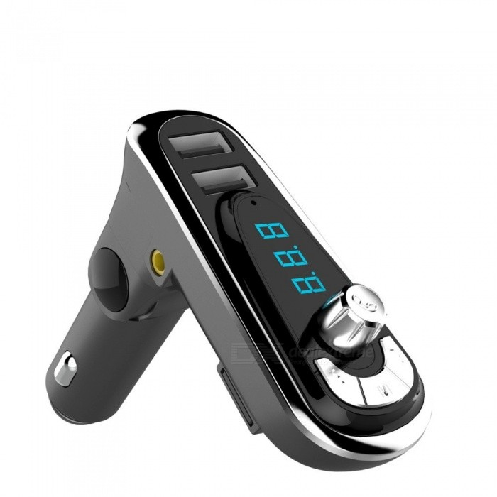 KELIMA Wireless FM Transmitter Modulator Bluetooth Car Kit