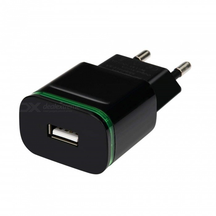 5V / 2A Quick Fast Charger, EU Plug USB Charger Power Adapter