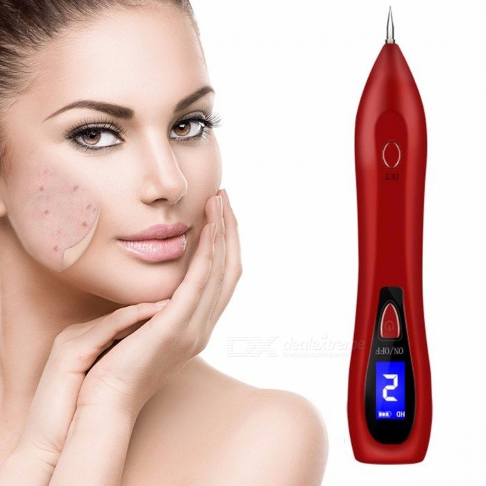 Dot Mole Removal Pen For Face Skin Spot Freckle Removal Beauty Device Professional Home Use