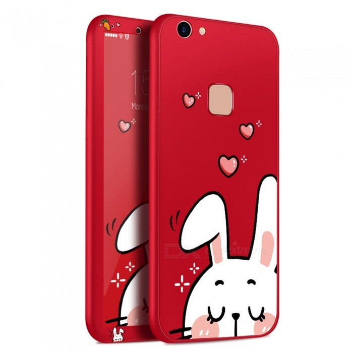 Phone Cases Cute Cartoon Soft Back Cover For VIVO Y 79 Case Cover Shell Phone Shell For VIVO Y79 Case Red/TPU/Case Screen Protector