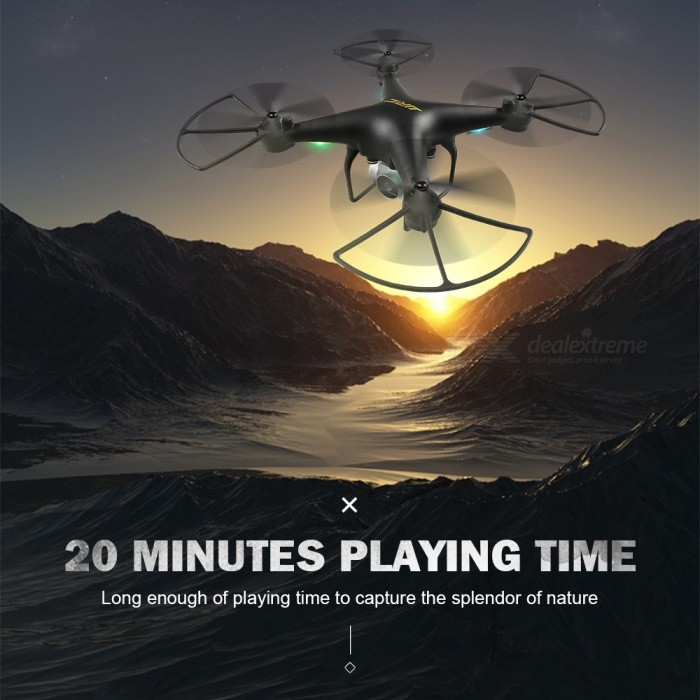 JJRC H68 BELLWETHER WiFi FPV RC Quadcopter Max Flight Time 20mins with 720P HD Camera Altitude Hold Mode RTF