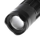 SIPIK SK68 120lm Convex Lens Zooming Flashlight, 1-Mode Mini LED Torch Lamp, Q3 LED Flashlight Lantern (1 PC)