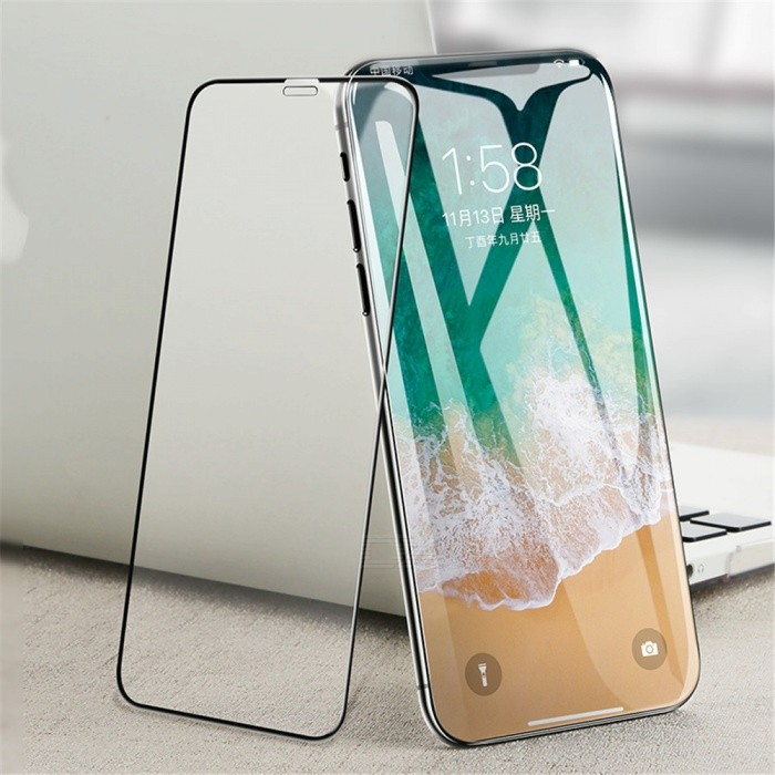 Benks V PRO Series - Full Size Tempered Glass Screen Protector with 3D Curved Edge for IPHONE X