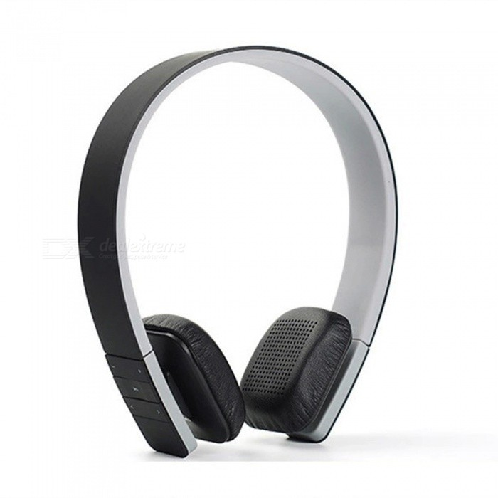 Bluetooth Headphone, Noise Reduction Wireless HiFi Stereo Headset Earphone With MIC For Laptop Smart Phone Tablet Red
