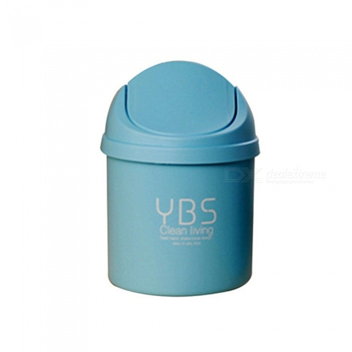 Mini Trash Can, Desktop Garbage Basket, Table Garbage Bin Vehicle Trash Cans For Household Cleaning Tool
