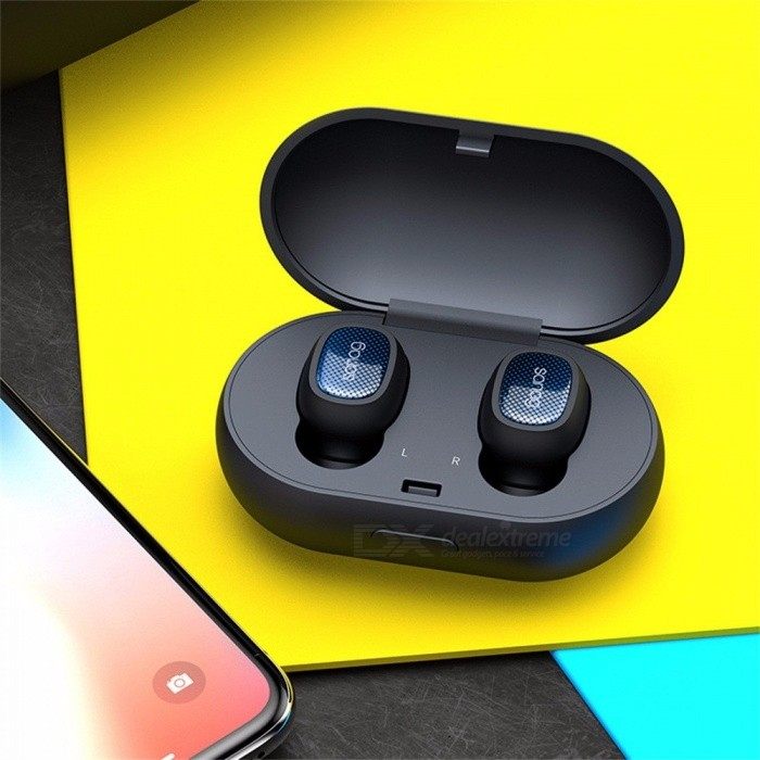 T3 Mini Invisible Bluetooth Wireless Earbuds Earpiece Earphone, HiFi Stereo Headset With Charging Box For Sports Running