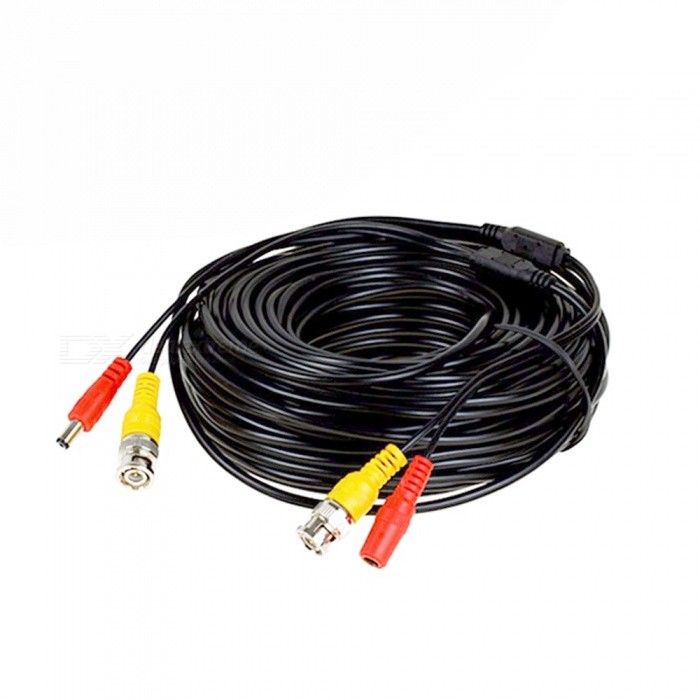 Video/Power Extension Cable for CCTV Camera (50M-Length)