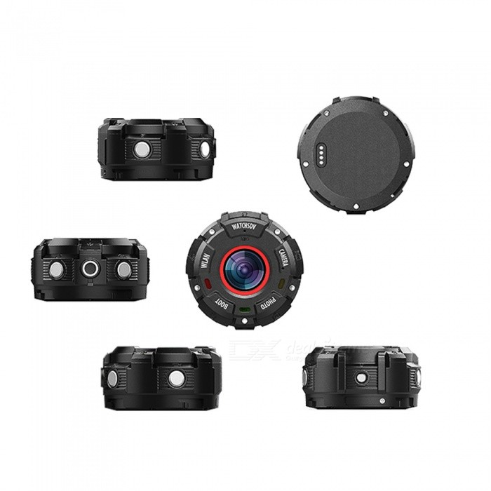 Buy ZGPAX S222 Wearable Magnetic Waterproof Drop-resistant Dust-Proof Sports Camera with Litecoins with Free Shipping on Gipsybee.com