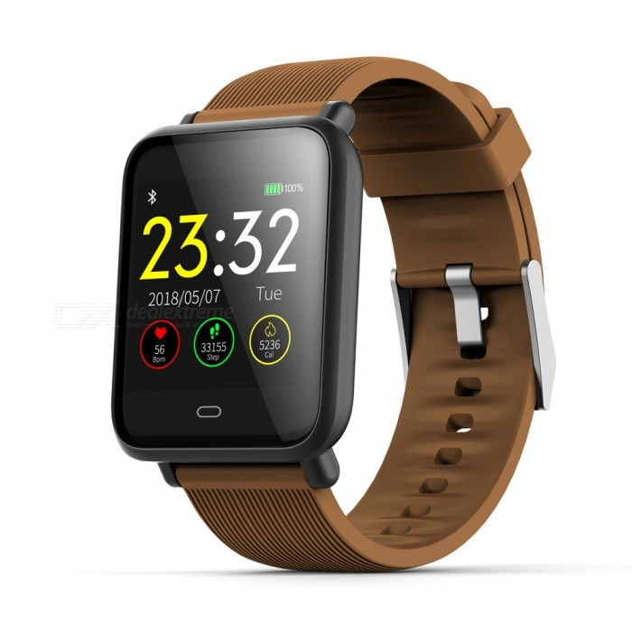 Q9 Smart Bracelet Touch Color Screen Sports Wrist Watch Heart Rate Blood Pressure Monitoring