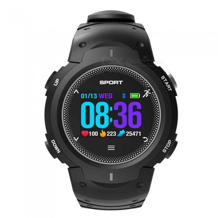 NO.1 F13 Smart Watch Real-time Heart Rate Monitor Outdoor Wristband