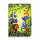 SZKINSTON-Animal-Family-Luxury-Special-Design-Pattern-PU-Leather-Case-for-90-7e-105-Inch-Tablet-PC-Green-2b-Blue