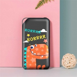 ROCK-P42-10000-MAh-Universal-Power-Bank-Portable-Charger-Cute-Animal-Power-Bank-Battery-For-Mobile-Phone-Blue