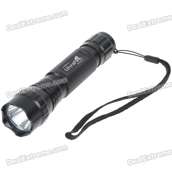UltraFire WF-501B XM-LT6 1-Mode 510lm White LED Flashlight (1*18650) for sale for the best price on Gipsybee.com.