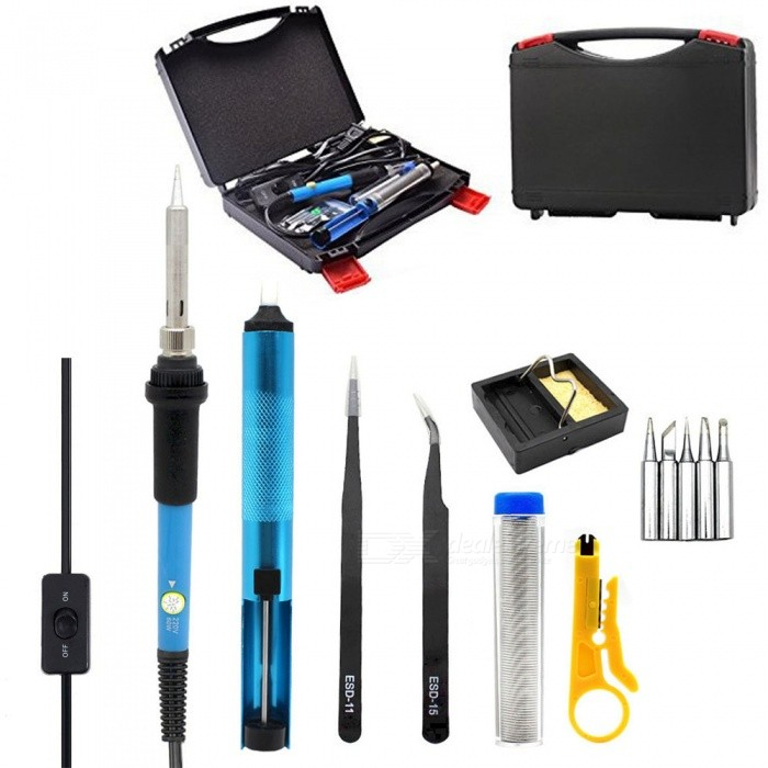 HakkaDeal-60W-Boxed-Soldering-Iron-13-in-1-Soldering-Tool-Set-with-Switch